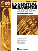Essential Elements 2000 Comprehensive Band Method - Baritone T.C. Book 1 Kotta, CD, DVD