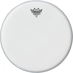 Remo  AX-0108-00- Batter, AMBASSADOR X, Coated, 8